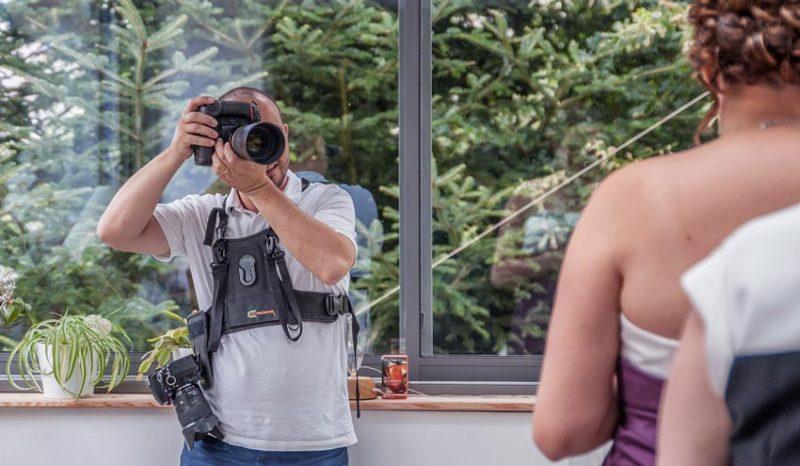 photographe de mariage en reportage