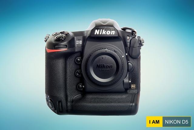"""Le Nikon D5, """"vaisseau amiral"""" de la marque avoisine les ... 7 000€"""