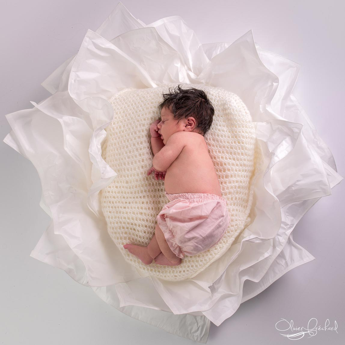 photo de bébé en studio à Strasbourg