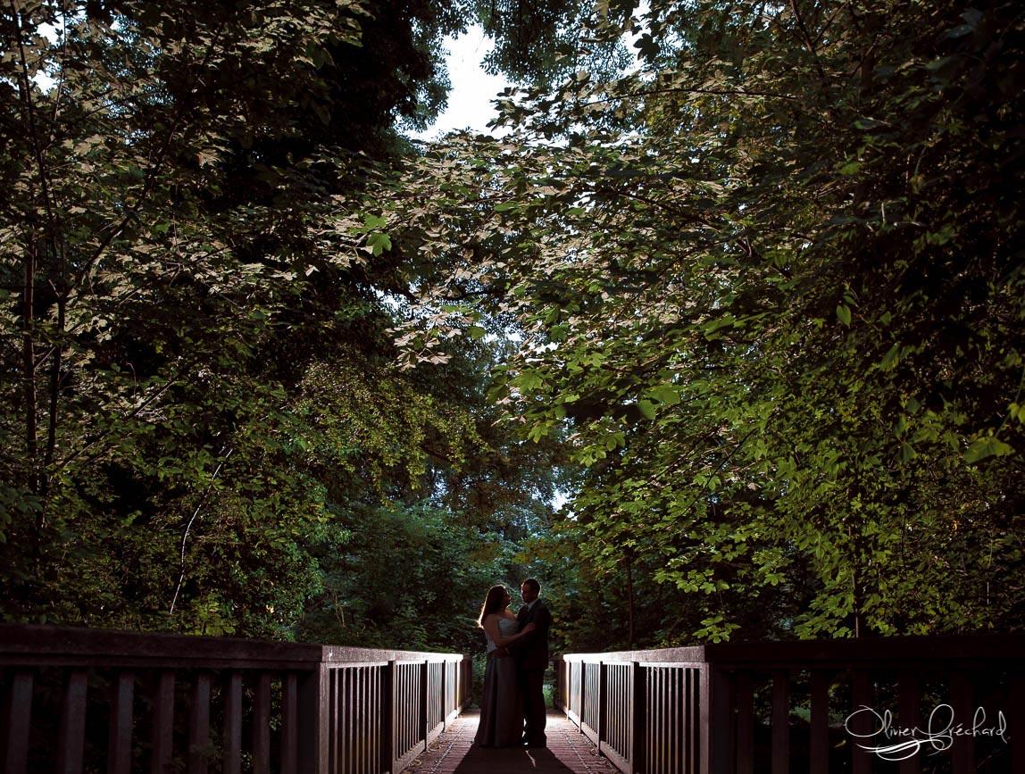 photo de couple dans un parc à Strasbourg en alsace