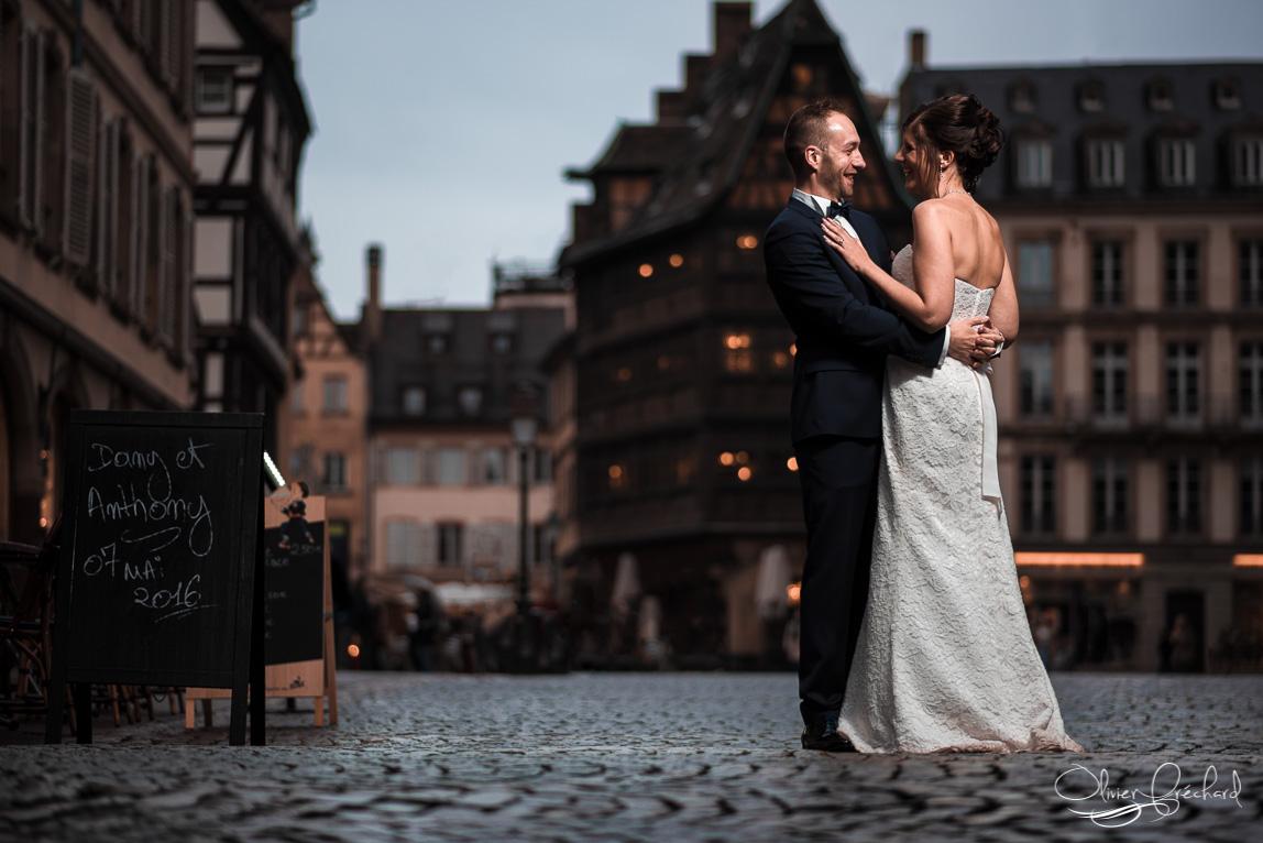 Photo de mariage à Strasbourg par Olivier Fréchard