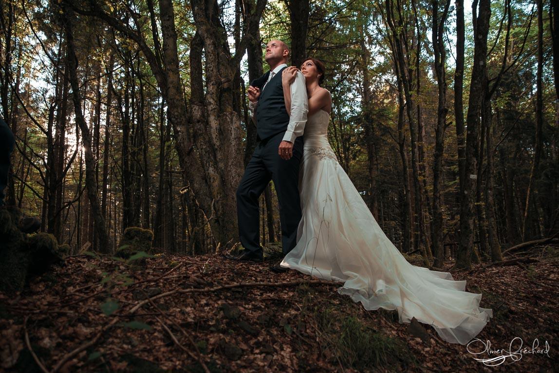 Photos de mariage en day after en for t alsace - Mariage simple et original ...
