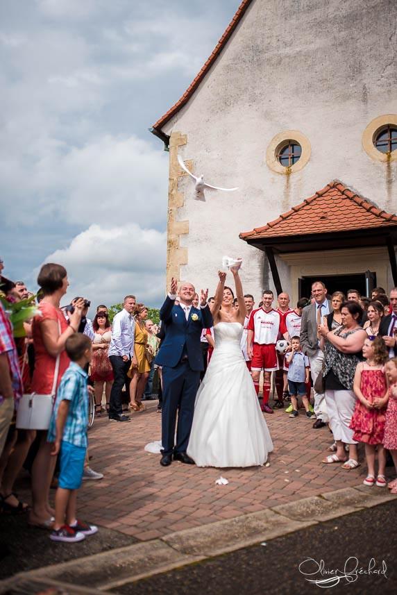 Photo de mariage à MEMMELSHOFFEN en Alsace