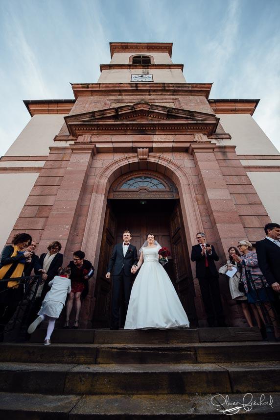Photos de mariage au château de Kientzheim en Alsace