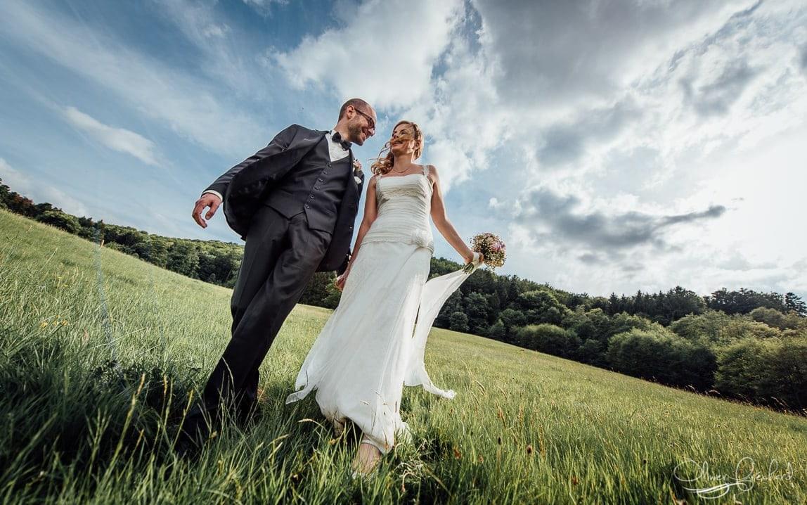 Photo de mariage au relais du Gensbourg
