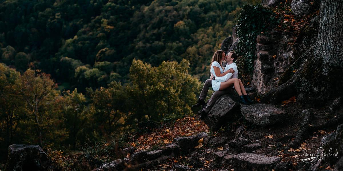 Photo de couple en Alsace par Olivier Fréchard