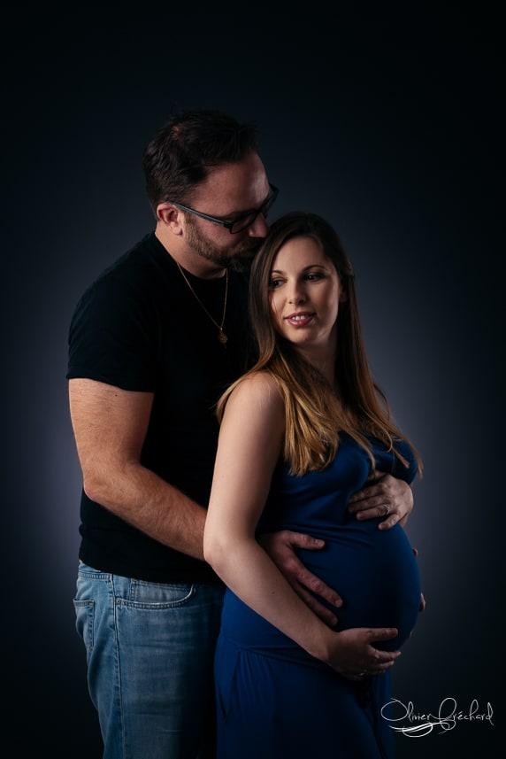 Photo de grossesse en Studio à Strasbourg