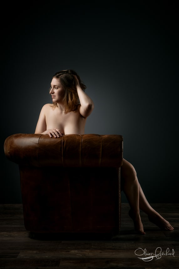 photo boudoir en studio à Strasbourg
