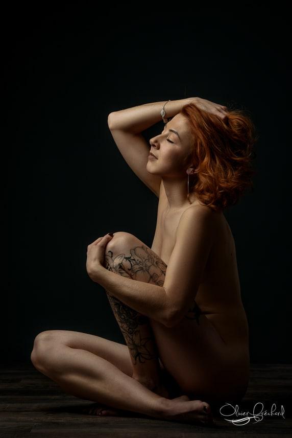 Photos boudoir sensuelles en studio à Strasbourg