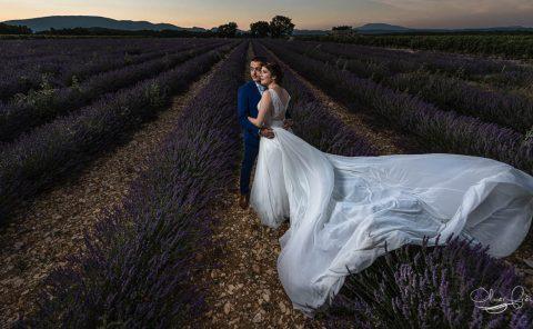 photos de mariage champêtre dans la drome provençale par Olivier Fréchard