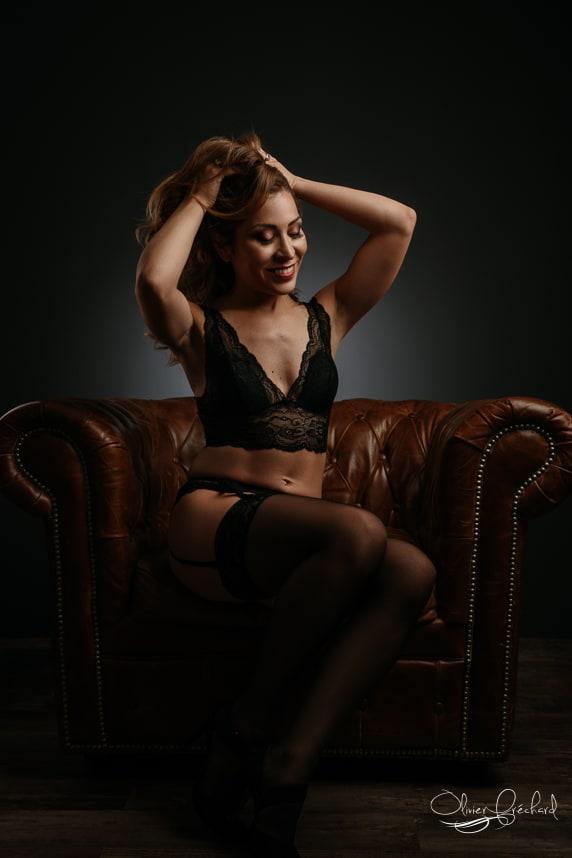 photos boudoir sensuelle en Studio à Strasbourg en Alsace