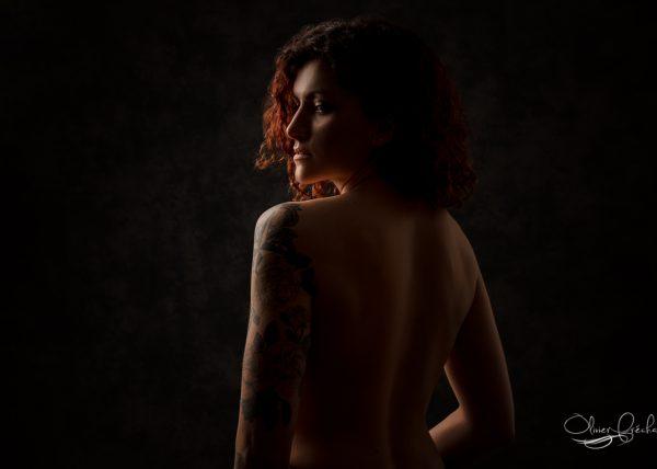 Portrait sensuel et photo Boudoir à Strasbourg en Alsace